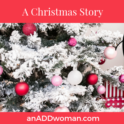 Christmas story an add woman